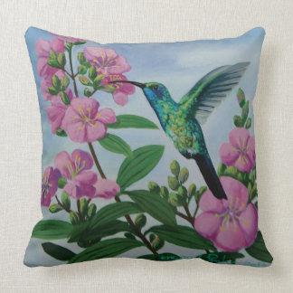 series almofada Kisses flower Throw Pillow