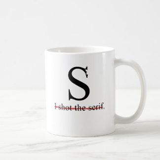 Serif Coffee Mug