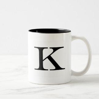 Serif K Mug