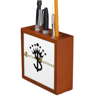 "Serious Business Entertainment ""All Work No Play"" Desk Organizer"