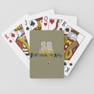 "Serious Business Entertainment ""All Work No Play"" Poker Deck"