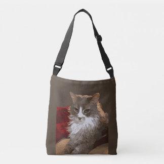 SERIOUS CAT CROSSBODY BAG