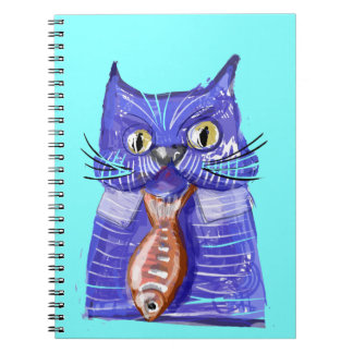 Serious Cat Note Book