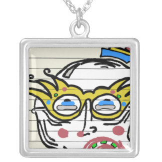 SERIOUS CLOWN NECKLACE
