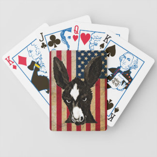 Serious Donkey - Patriotic Edition Bicycle Poker Deck