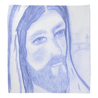 Serious Jesus Bandana