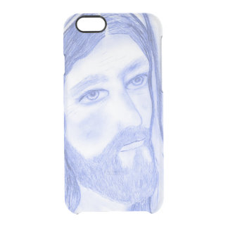 Serious Jesus Clear iPhone 6/6S Case