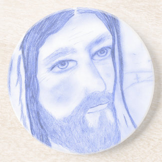 Serious Jesus Coaster