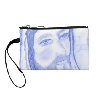 Serious Jesus Coin Purse