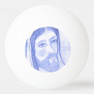 Serious Jesus Ping Pong Ball