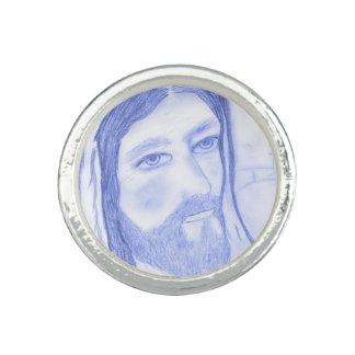 Serious Jesus Rings