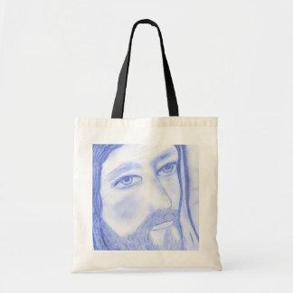 Serious Jesus Tote Bag