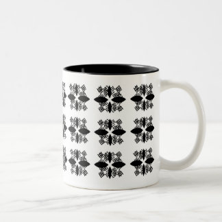 Serious Laughter Two-Tone Coffee Mug