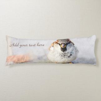 Serious Sparrow Body Pillow