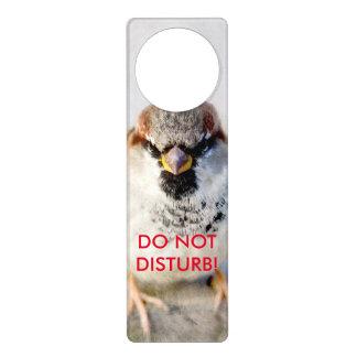 Serious Sparrow Door Knob Hangers