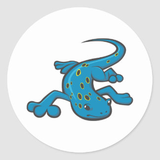 Serious Spotted Salamander Stickers