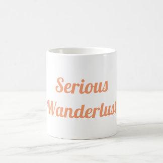 Serious Wanderlust Mug