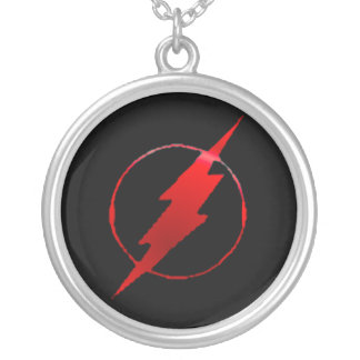 Seriously Fast Silver Plated Necklace