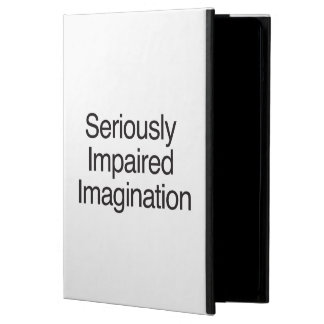 Seriously Impaired Imagination iPad Air Cover