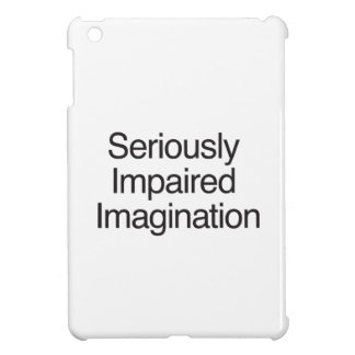 Seriously Impaired Imagination iPad Mini Covers