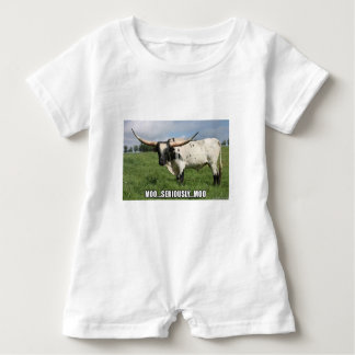 Seriously, that is a lot of Bull Baby Romper