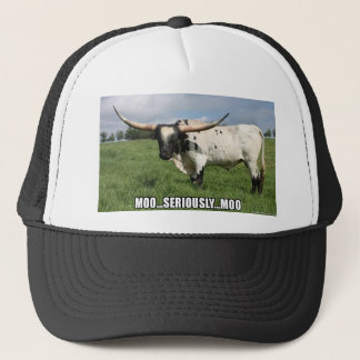 Seriously, that is a lot of Bull Trucker Hat