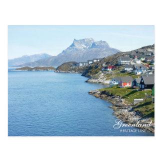 Sermitsiaaq Mountain, Nuuk Postcard