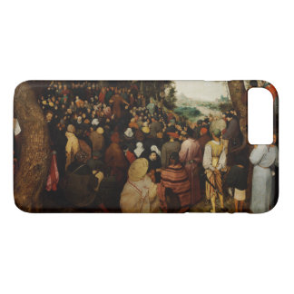 Sermon of St John the Baptist by Pieter Bruegel iPhone 8 Plus/7 Plus Case
