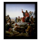 Sermon On The Mount Biblical Poster