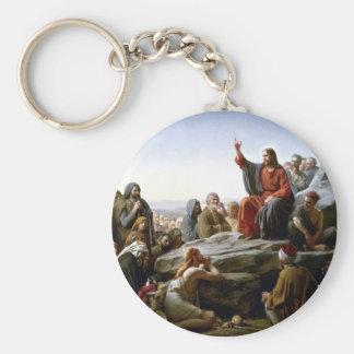 Sermon on the Mount Keychain