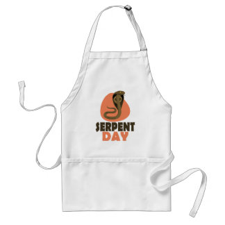 Serpent Day - Appreciation Day Standard Apron