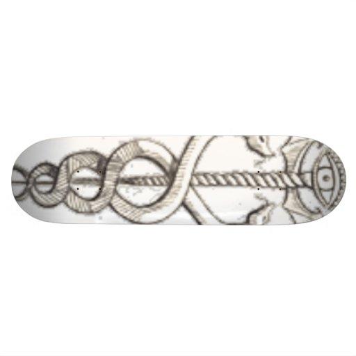 serpent-épée planches à roulettes customisées