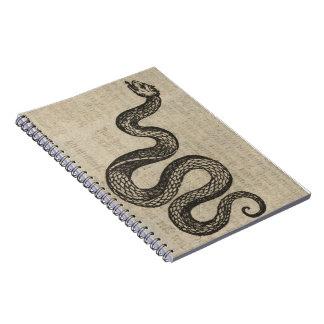 Serpent Spiral Note Book