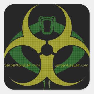 Serpentor's Lair Toxic Cobra Sticker Sheet