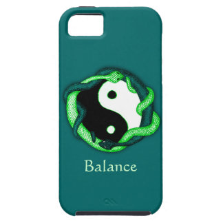 Serpents Dual (Green) iPhone 5 Case