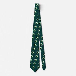 Serpents Dual (Green) Tie