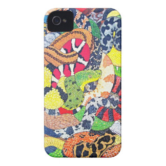 Serpents iPhone 4 Cover