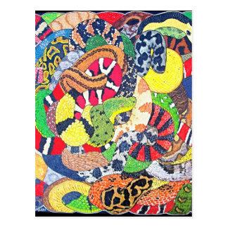 Serpents Postcard