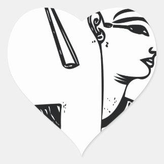 Serquet the Scorpion 1 Heart Sticker