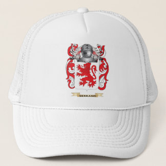 Serrano Coat of Arms (Family Crest) Trucker Hat