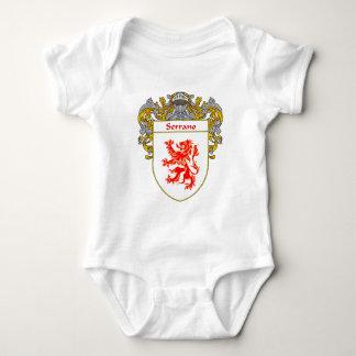 Serrano Coat of Arms (Mantled) Baby Bodysuit