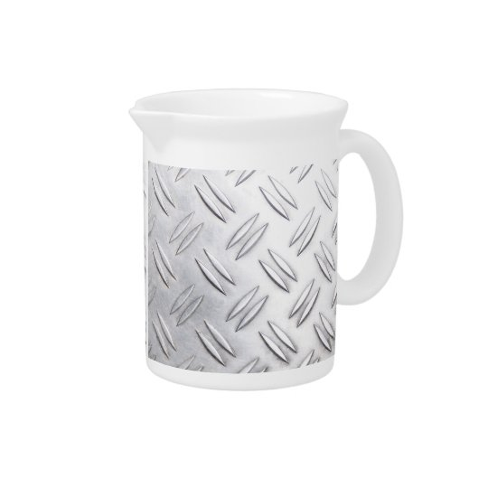 Serrated sheet background pitcher