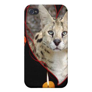 Serval africain étuis iPhone 4