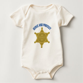 Serve And Protect Baby Bodysuit