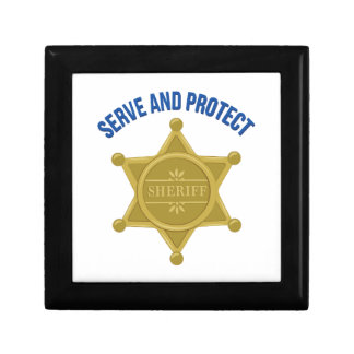 Serve And Protect Gift Box