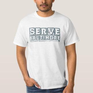 Serve Baltimore Tee-Shirt T-Shirt
