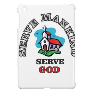 serve god church iPad mini cover