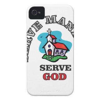 serve god church iPhone 4 cover