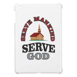 serve god serve mankind art cover for the iPad mini