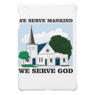 serve mankind serve god love iPad mini cases